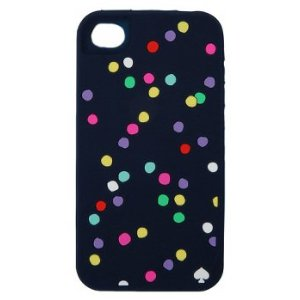 Kate spade polka dots sprinkles iphone 4 case