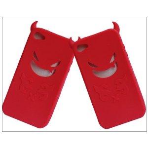 halloween iphone 4 red devils case