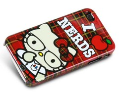 hello kitty love nerds iphone 4 loungefly case