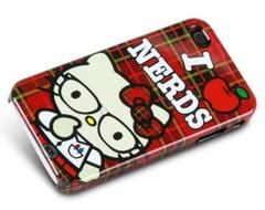 hello kitty love nerds iphone 4 loungefly case