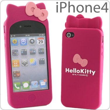 hello kitty ribbon iphone 4 case