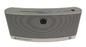 spracht aura blunote portable wireless speaker system